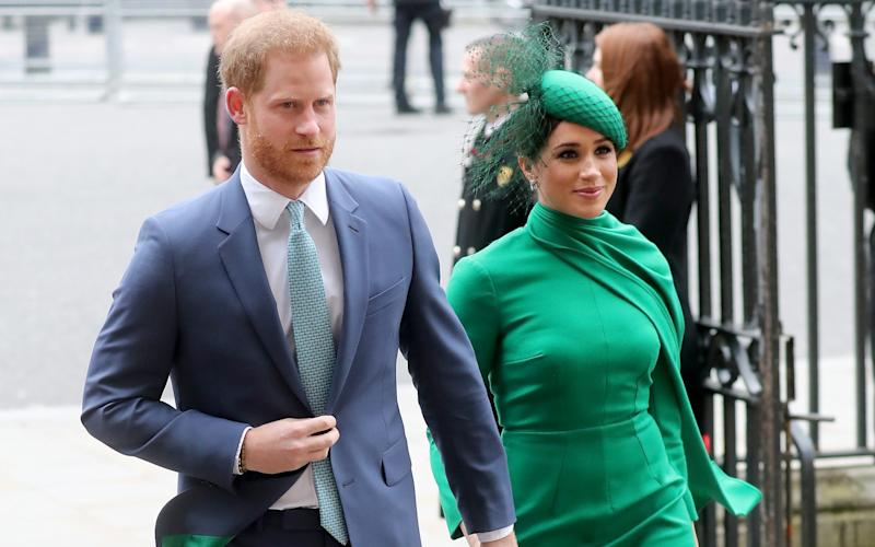 Prince Harry and Meghan Markle are set for legal battle as they try to keep the five friends anonymous - Chris Jackson/Getty Images Contributor