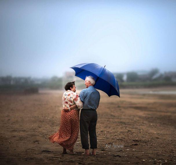 PHOTO: Older couples model for Setia and her students in photography workshops. (Sujata Setia/But Natural Photography)
