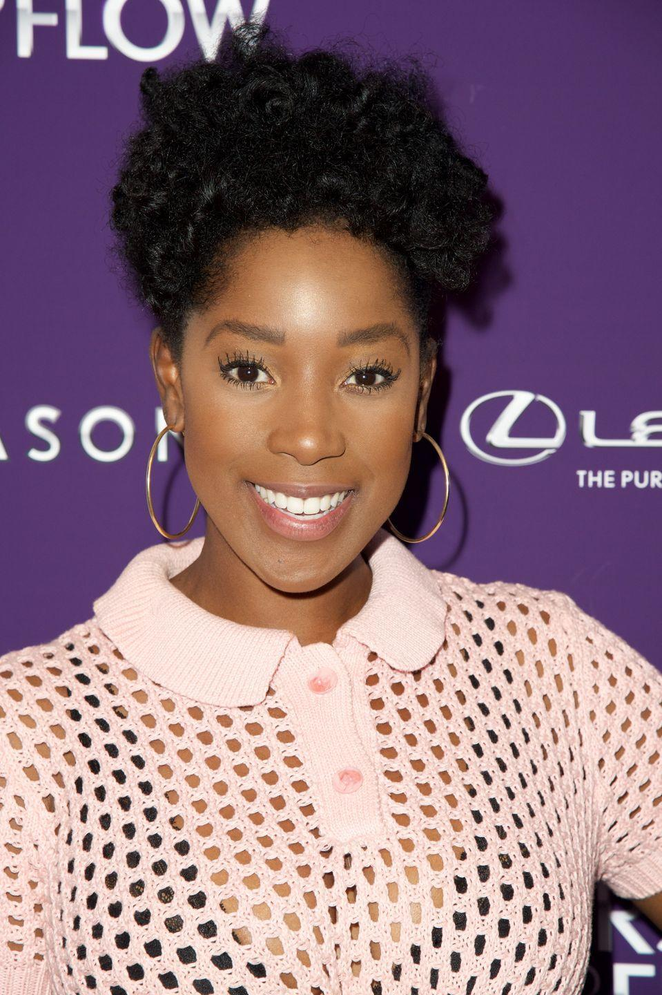 <p>Curls can be unpredictable, coming out perfect one day and not-so-perfect the next. That's where rod set curls come to the rescue. They create perfectly uniform spirals like these ringlets that actress <strong>Ashley Blaine Featherson</strong> is showing off.</p>