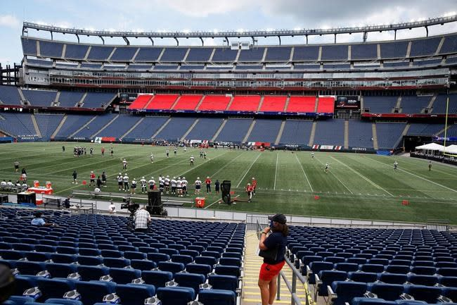 Patriots gear up for opener with Gillette simulation