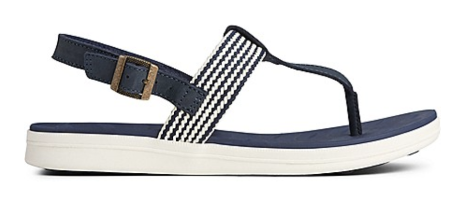 Nautical-inspired sandals, designed with comfort in mind. (Photo: Sperry)