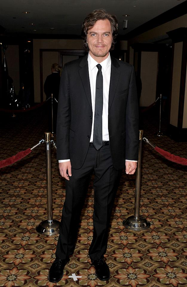 """<a href=""""http://movies.yahoo.com/movie/contributor/1800014056"""">Michael Shannon</a> at the 61st Annual Directors Guild of America Awards in Los Angeles - 01/31/2009"""
