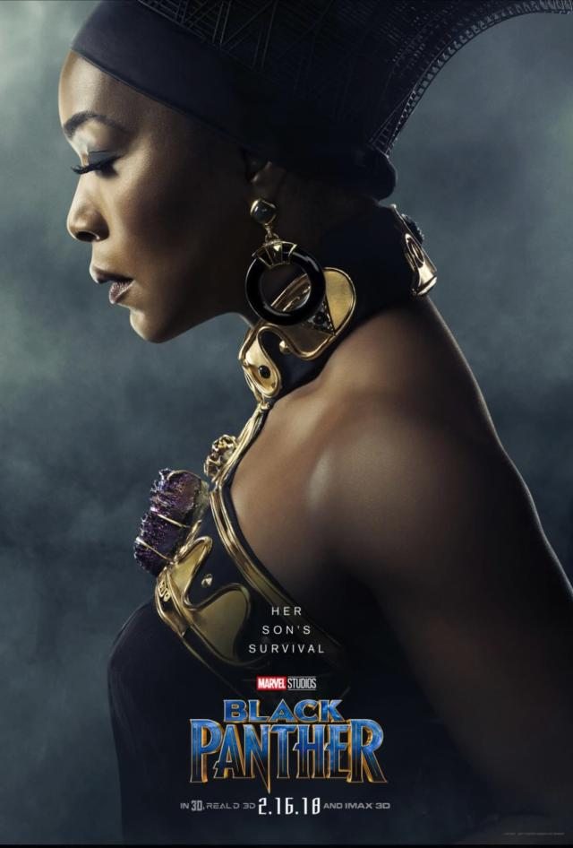 Angela Bassett as Ramonda in <i>Black Panther.</i> (Photo: Marvel Studios)