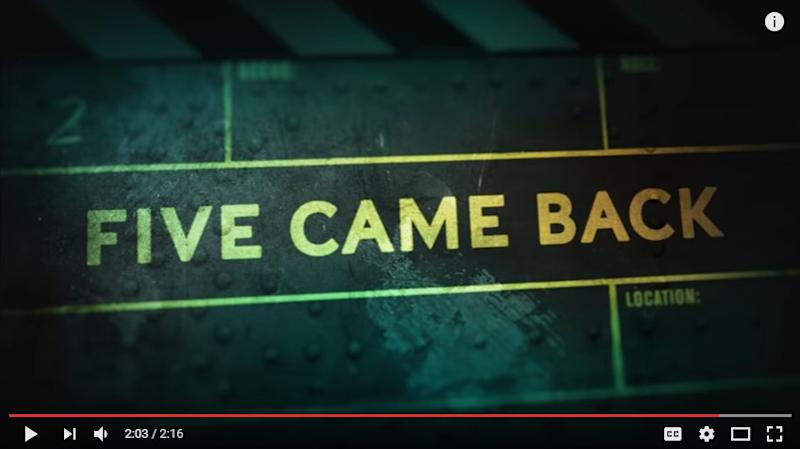 Steven Spielberg & more in Netflix's Five Came Back trailer