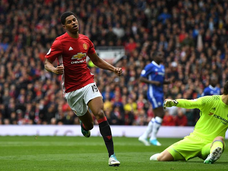 Rashford enjoyed one of the best games of his career against Chelsea