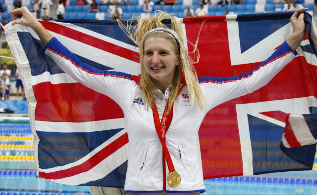 Rebecca Adlington won two golds at the 2008 Olympics in Beijing and urged athletes to focus on their Tokyo preparations - despite coronavirus fears