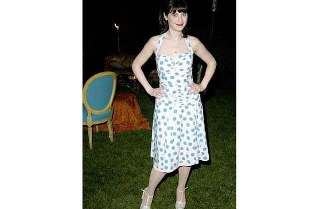 2003 Zooey starts to experiment with retro prints.
