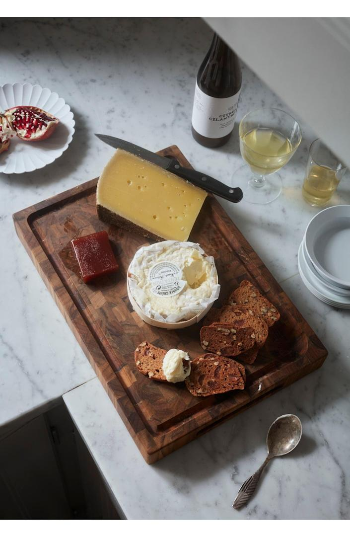 <p>We'll be making all the cheese boards on this <span>Goodee x Skagerak Dania Cutting Board</span> ($100).</p>