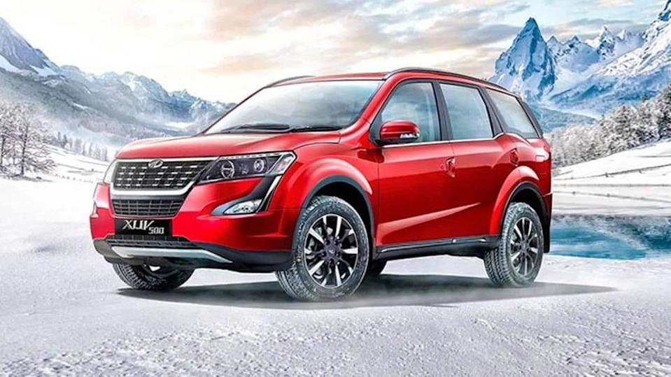 2021 Mahindra XUV500 spied up close; interior features revealed