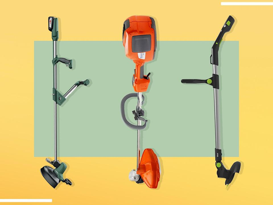 <p>A decent cordless strimmer can be a real game changer – tackling everything from intricate garden borders, to tough patches of weeds on our neglected allotment</p> (iStock/The Independent)