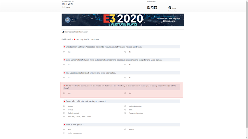 Best Of E3 2020.As The Esa Tests E3 2020 Site Big Questions Linger About