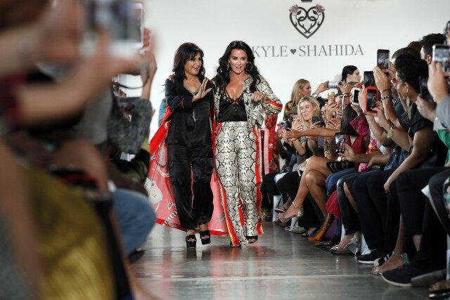 Kyle Richards NYFW 2019 fashion show