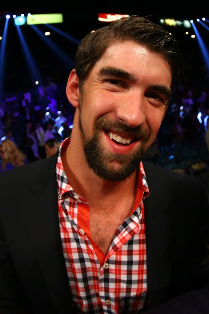 "<a href=""http://www.huffingtonpost.com/nick-graham/michael-phelps-bong-pictu_b_162842.html"" rel=""nofollow noopener"" target=""_blank"" data-ylk=""slk:""[Phelps] firmly denies that he takes drugs, suggesting that the notorious photo of him smoking from a bong was a one-time lapse of judgment."""" class=""link rapid-noclick-resp"">""[Phelps] firmly denies that he takes drugs, suggesting that the notorious photo of him smoking from a bong was a one-time lapse of judgment.""</a>"