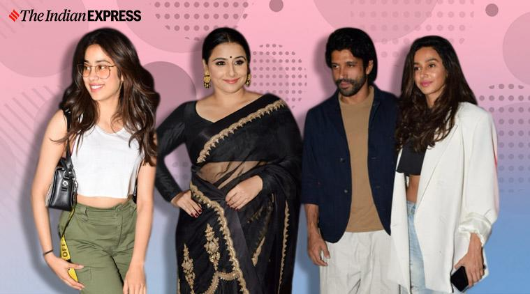 The Sky Is Pink screening, The Sky Is Pink, The Sky Is Pink screening photos, Vidya Balan, Kiran Rao, Ira Khan, Radhika Madan, Vivek Oberoi, Rohit Saraf, Shonali Bose