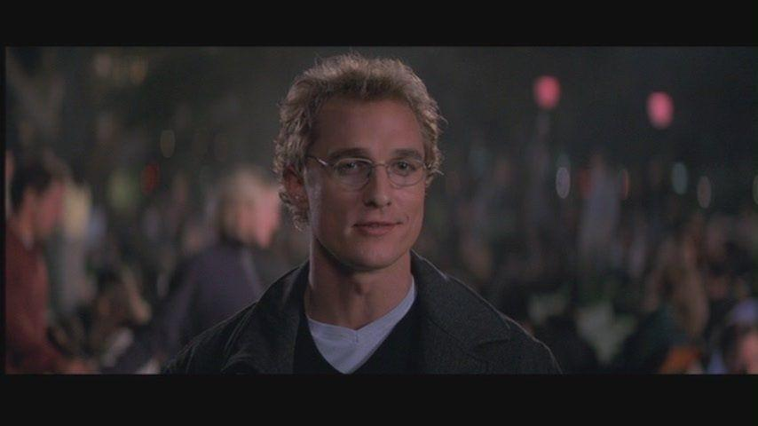 <p>Wire-rimmed glasses and floppy hair, Steve was the archetypal romcom love interest. For McConaughey this was the perfect way to build up to the romcom to end them all: How To Lose a Guy in 10 Days.</p>