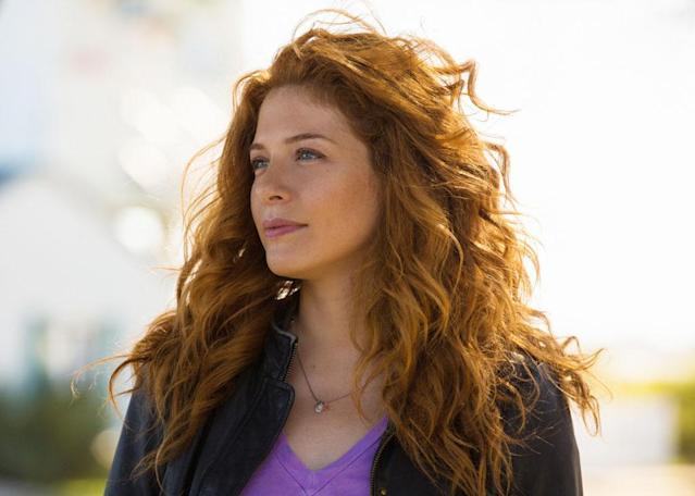 """Manhunt"" - Julia Shumway (Rachelle Lefevre) and the residents of Chester's Mill find themselves suddenly and inexplicably sealed off from the rest of the world by a massive transparent dome, on ""Under the Dome."""
