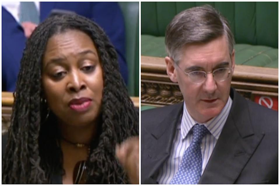 'Gaslighting': Dawn Butler on Jacob Rees-Mogg. (Parliamentlive.tv)