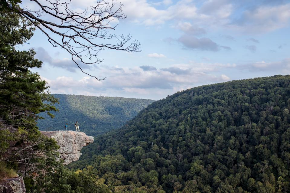 Whitaker Point is a popular spot for photos. Source: Getty
