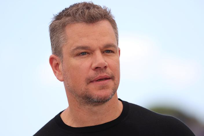 Matt Damon is being criticised for saying he used 'f-slur for homosexual' until recently (VALERY HACHE/AFP via Getty Images)