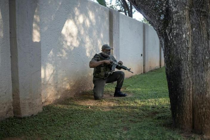 South Africa has one of the world's largest private security industries, employing more personnel than the police