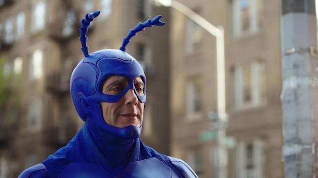 Peter Serafinowicz as the Tick (Photo: Amazon)