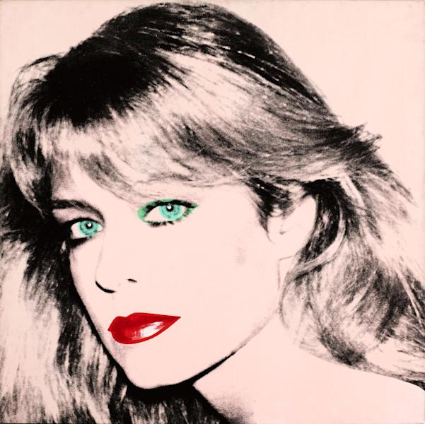 "This photo released by courtesy of the Blanton Museum of Art shows Andy Warhol's painting of ""Farrah Fawcett,"" 1980. The painting was bequeathed by Fawcett to the University of Texas at Austin in 2010. The university is suing Oscar-nominated actor Ryan O'Neal to gain possession of a second Fawcett portrait done by Warhol. Attorneys for the University of Texas at Austin and O'Neal each made their arguments to a Los Angeles jury on Monday Dec. 16, 2013that their clients are rightful owner of a disputed Andy Warhol portrait of the late Farrah Fawcett. (AP Photo/Blanton Museum of Art, Copyright The Andy Warhol Foundation for the Visual Arts) **MANDATORY PHOTO CREDIT**"