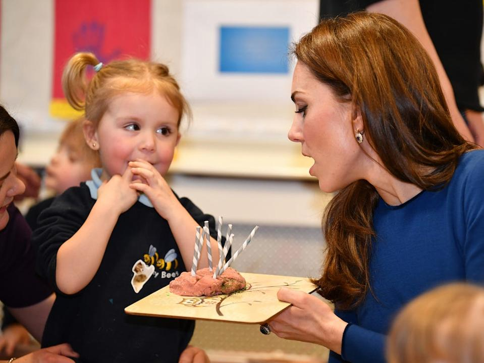 Kate Middleton ireland kids