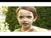 """<p>Not all zombies have to be quite so gory or terrifying as the ones that typically populate pop culture. This Halloween makeup tutorial is perfect for the little ones.</p><p><a class=""""link rapid-noclick-resp"""" href=""""https://www.amazon.com/Snazaroo-Face-Paint-Clown-White/dp/B0013HI448/ref=asc_df_B0013HI448/?tag=syn-yahoo-20&ascsubtag=%5Bartid%7C10050.g.34087783%5Bsrc%7Cyahoo-us"""" rel=""""nofollow noopener"""" target=""""_blank"""" data-ylk=""""slk:SHOP WHITE FACE PAINT"""">SHOP WHITE FACE PAINT</a></p><p><strong>RELATED: </strong><a href=""""https://www.countryliving.com/diy-crafts/g1360/halloween-costumes-for-kids/"""" rel=""""nofollow noopener"""" target=""""_blank"""" data-ylk=""""slk:98 Easy DIY Halloween Costumes for Kids of All Ages"""" class=""""link rapid-noclick-resp"""">98 Easy DIY Halloween Costumes for Kids of All Ages</a></p><p><a href=""""https://www.youtube.com/watch?v=HO-6Ck2Jw0c"""" rel=""""nofollow noopener"""" target=""""_blank"""" data-ylk=""""slk:See the original post on Youtube"""" class=""""link rapid-noclick-resp"""">See the original post on Youtube</a></p>"""