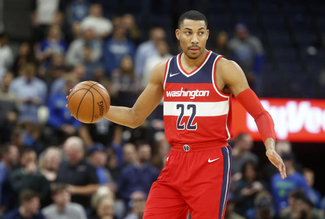 "<a class=""link rapid-noclick-resp"" href=""/nba/players/5154/"" data-ylk=""slk:Otto Porter"">Otto Porter</a> Jr. has become invaluable to the Wizards. (AP)"