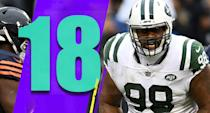 <p>Linebacker Avery Williamson has been a very good free-agent addition. He has 55 tackles, two sacks and an interception so far this season. He's still just 26 years old, so he'll have plenty of prime seasons left as the young Jets continue to build. (Mike Pennel) </p>