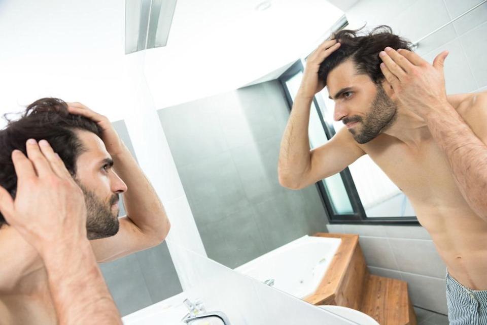 You can't control genetics, but you can control the lifestyle factors that contribute to hair loss. (Photo: Getty)