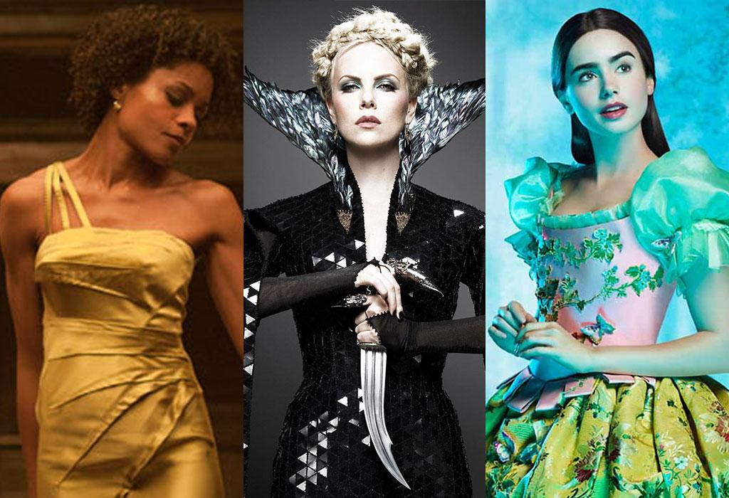 "Gowns from ""Skyfall"", ""Snow White and the Huntsmen"" and ""Mirror, Mirror"""