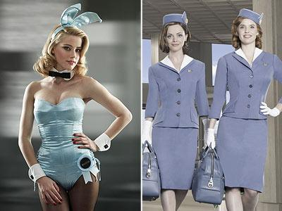 """With """"The Playboy Club"""" and """"Pan Am,"""" skin is in (John Russo/NBC, Bob D'Amico/ABC)"""