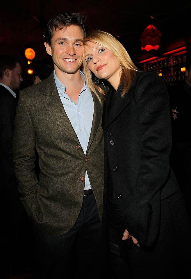 "English actor Hugh Dancy and his wife ""Temple Grandin"" star Claire Danes kept it casual at the classy event. Donato Sardella/<a href=""http://www.gettyimages.com/"" target=""new"">GettyImages.com</a> - February 24, 2011"