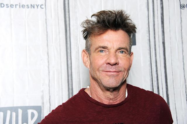 Dennis Quaid opened up to Megyn Kelly this week about his battle with cocaine, saying he used it almost daily in the 1980s. (Photo: Getty Images)