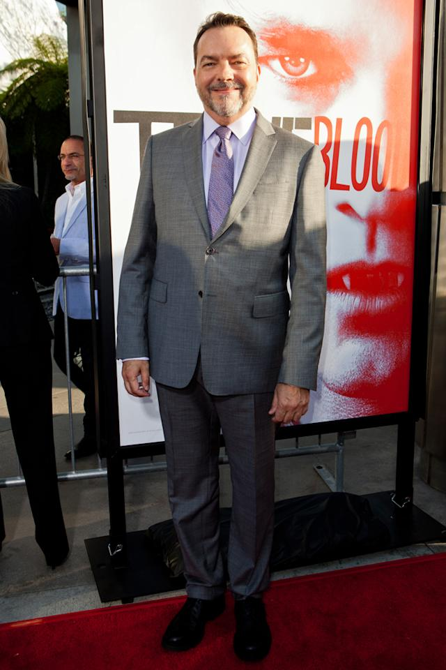 "Creator Alan Ball attends HBO's ""True Blood"" Season 5 Los Angeles premiere at ArcLight Cinemas Cinerama Dome on May 30, 2012 in Hollywood, California."