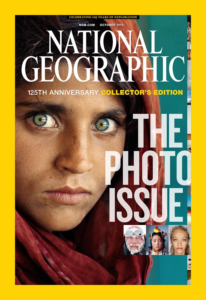 All images are from the October 125th anniversary issue of National Geographic magazine.
