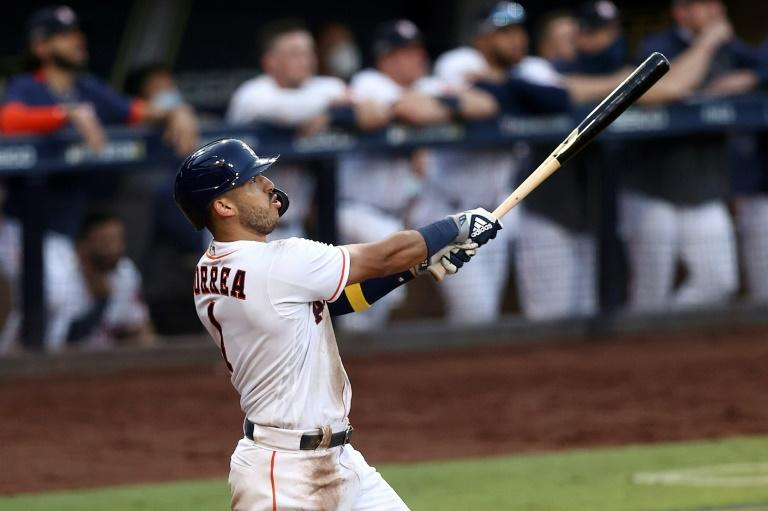 Correa homer keeps Astros alive against Rays