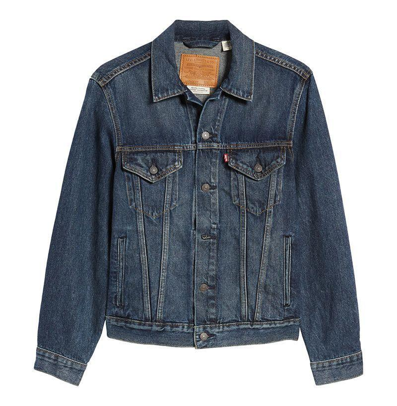 """<p><strong>Levi's</strong></p><p>nordstrom.com</p><p><strong>$98.00</strong></p><p><a href=""""https://go.redirectingat.com?id=74968X1596630&url=https%3A%2F%2Fwww.nordstrom.com%2Fs%2Flevis-trucker-denim-jacket%2F5904663%3Forigin%3Dkeywordsearch-personalizedsort%26breadcrumb%3DHome%252FAll%2BResults%26color%3D400&sref=https%3A%2F%2Fwww.esquire.com%2Fstyle%2Fadvice%2Fg2995%2Fbest-fall-coats-jackets%2F"""" rel=""""nofollow noopener"""" target=""""_blank"""" data-ylk=""""slk:Shop Now"""" class=""""link rapid-noclick-resp"""">Shop Now</a></p><p>The denim jacket is just about the trustiest lightweight outerwear option on the market, and in the form of this one from Levi's—an actual originator of the style—it's never looked so good. </p>"""