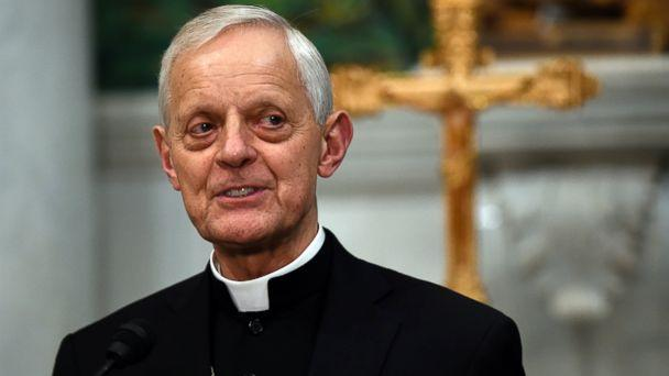 In this June 30, 2015, file photo Cardinal Donald Wuerl, archbishop of Washington, speaks during a news conference at the Cathedral of St. Matthew the Apostle in Washington. (AP)