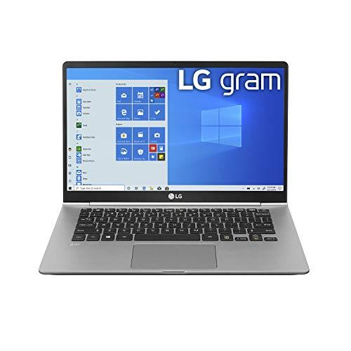 "LG Gram Laptop - 14"" Full HD IPS, Intel 10th Gen Core i5 (10210U CPU), 8GB DDR4 2666MHz RAM, 512GB NVMeTM SSD, Up to 22.5 Hours Battery, Intel UHD Graphics - 14Z995-U.ARS6U1 (2020) (Amazon / Amazon)"