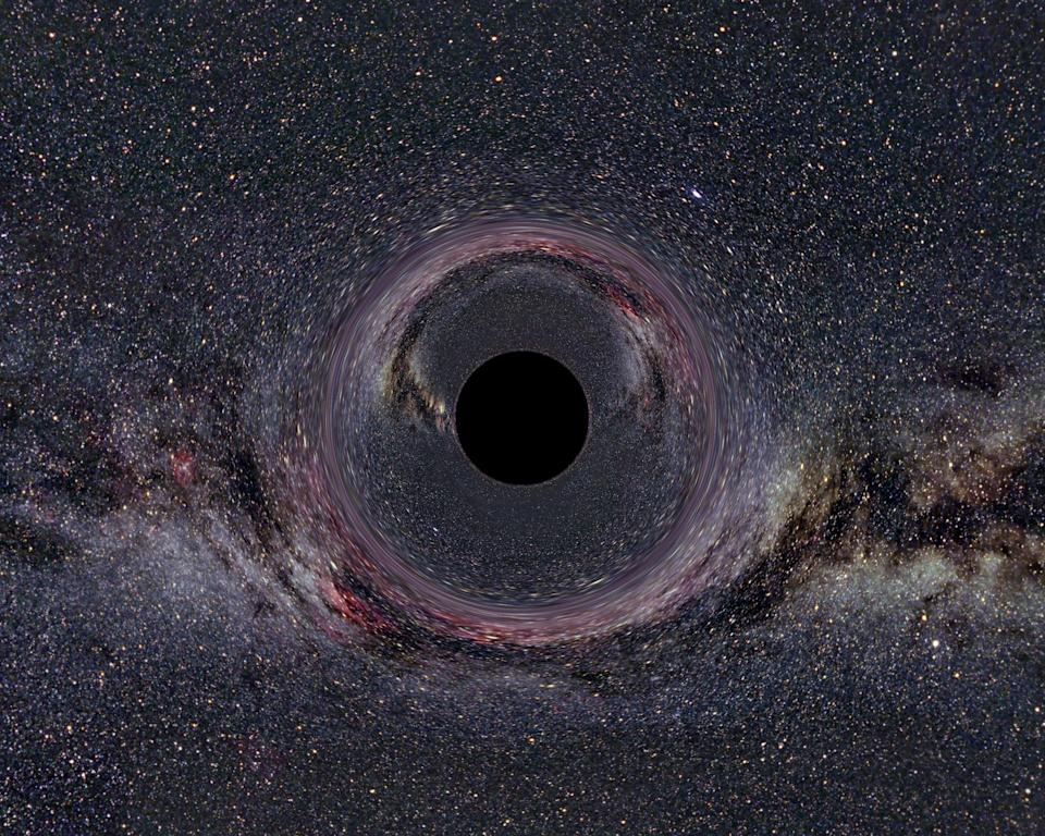 Photograph of a black hole in the milky way. Dated 2014. (Photo by: Photo 12/Universal Images Group via Getty Images)