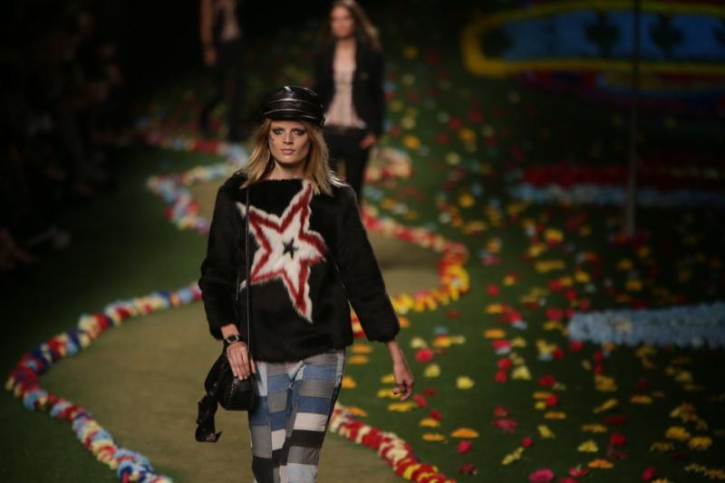 The Tommy Hilfiger SS15 collection unveiled at New York Fashion Week last September.