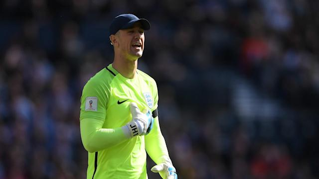 The England goalkeeper insists he does not care about the manager's decision, as he spends the season on loan at West Ham United