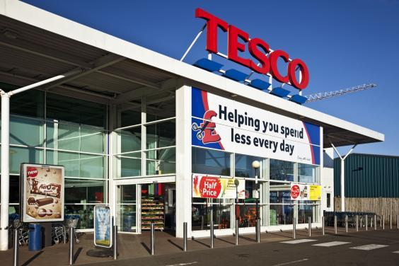 Entrance to a Tesco Superstore in Scotland (iStock)