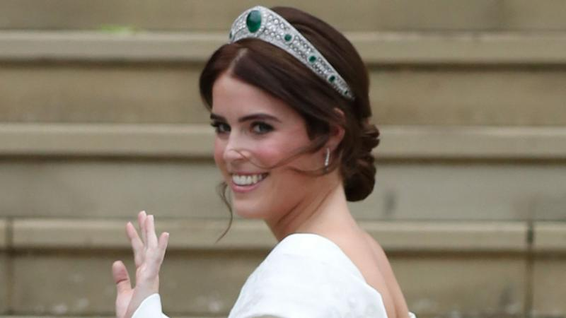 Princess Eugenie Shows Off Her Back Surgery Scars in Royal Wedding Gown: Pics