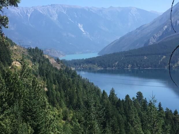 File photo of Seton Lake, where three bodies were found in the water after a loud bang was heard in the middle of the night, according to police. (Matthew McFarlane/CBC - image credit)