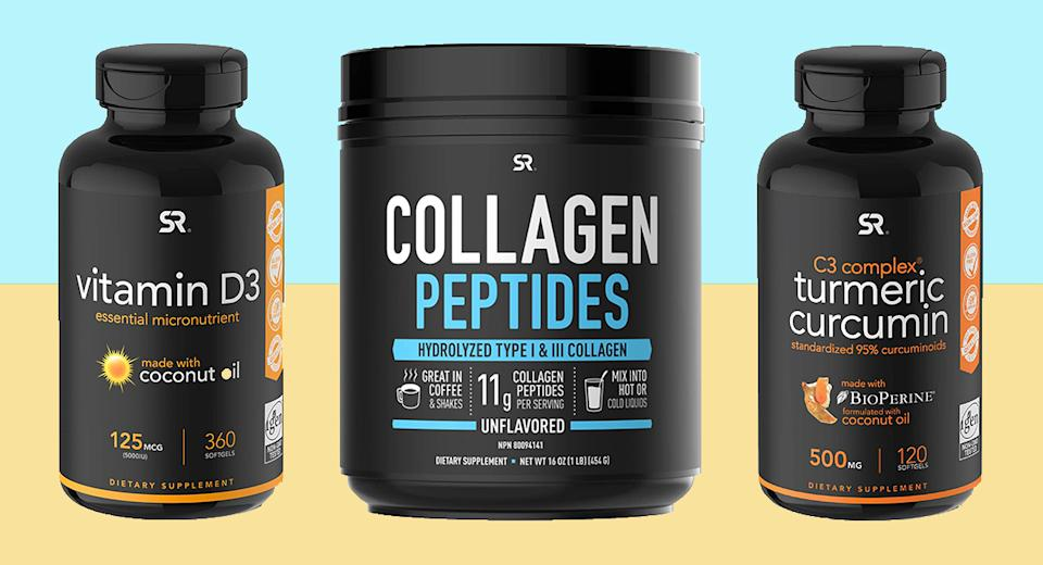 These supplements and more are on sale today only on Amazon. (Photo: Amazon)