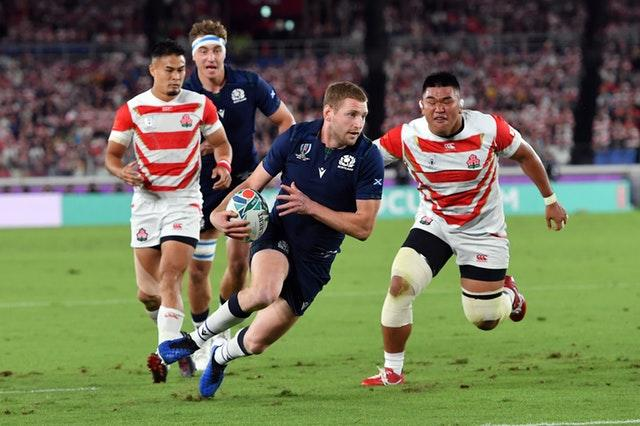 Finn Russell has 49 caps for Scotland but has not played since the World Cup in Japan last autumn