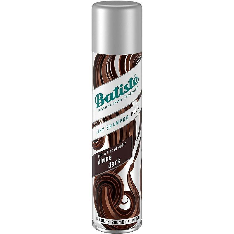 "The Batiste Hint of Color Divine Dark Dry Shampoo is tinted brown, especially for brunettes. According to Los Angeles-based hairstylist <a href=""https://www.instagram.com/josephmaine/?hl=en"" rel=""nofollow noopener"" target=""_blank"" data-ylk=""slk:Joseph Maine"" class=""link rapid-noclick-resp"">Joseph Maine</a>, tinted formulas are great not only for absorbing excess oil but also for covering roots. ""This product has an added bonus because it can conceal any grow out and make your hair appear more full if you spray it onto the scalp,"" he says."